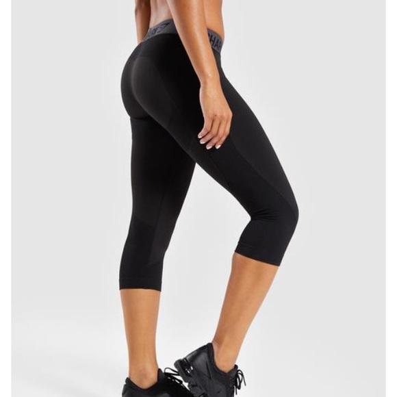 ddb71fe940a9cd Gymshark Pants | Flex Cropped Leggings | Poshmark